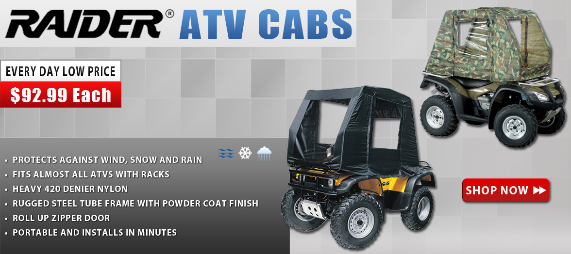 Raider ATV cabs