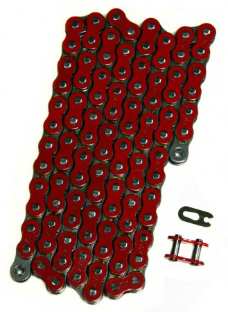 520 Pitch Chain - Red - 92 Pins