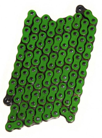 Green O-Ring Chain, 520 Pitch - FS-520-OGR