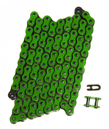 520 Pitch Chain - Green - 92 Pins