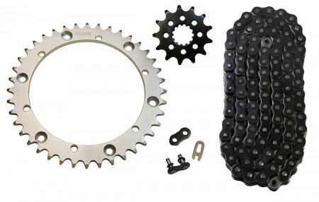 Black O-Ring Chain & Sprocket Kit, 13/40