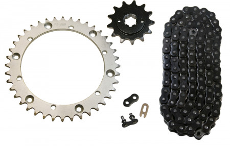 Black O-Ring Chain & Sprocket Kit, 13/40