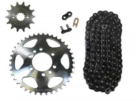 Factory Spec K15861554520NZBLK96 Chain & Sprocket Kit - 14/40 | ATV