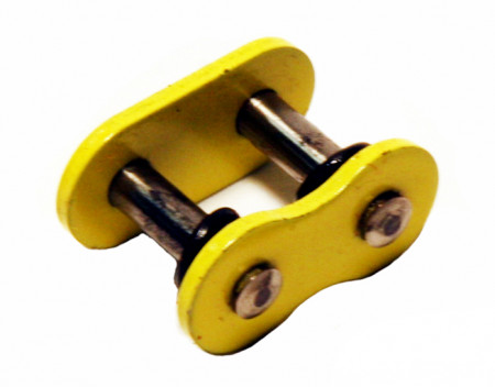 Yellow 520 O-Ring Master Link - Rivet Style
