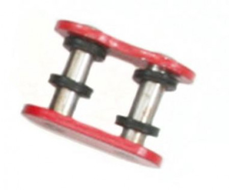 Red 520 O-Ring Master Link - Rivet Style - FS-520-OR-RML