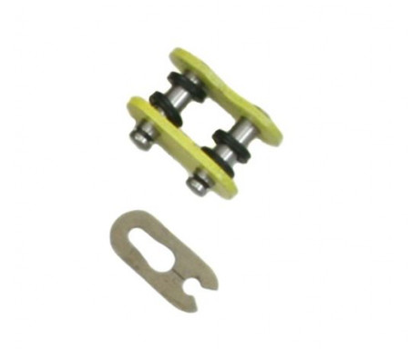 Heavy Duty, Yellow X-Ring Master Link, 520 Pitch