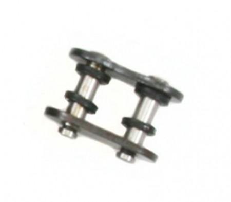 Black 520 O-Ring Master Link - Rivet Style - FS-520-OBLK-RML