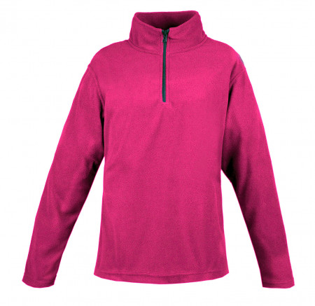 Mossi - Ladies Copper Ridge Fleece 1/4 Zip Fleece Shirt Fuchsia