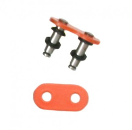 Orange 520 O-Ring Master Link - Rivet Style