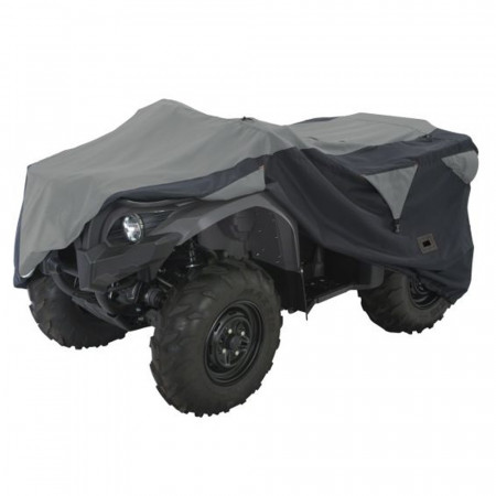 Classic Accessories - Large Deluxe ATV Storage Cover - Black/Grey - 15-061-043804-00