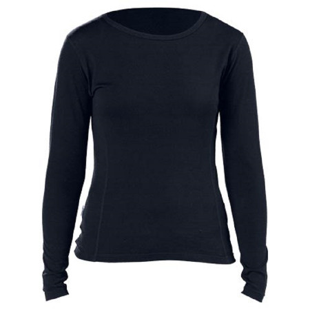 Minus 33 - Women's Mid-Weight Crew Neck Top - Black