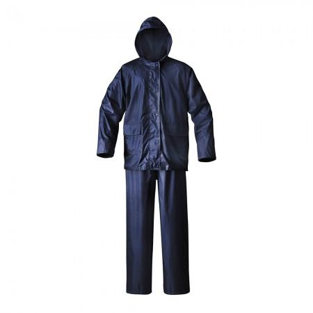 Mossi - Adult Simplex Rain Suit - Blue, Small
