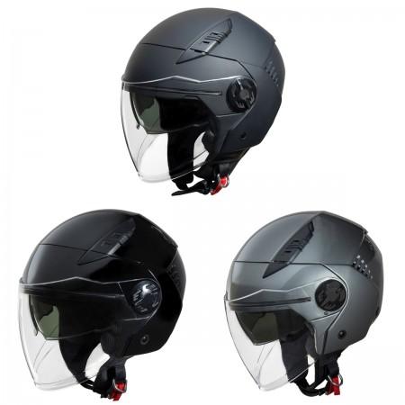 Fulmer Viva Adult Open Face Helmet w/Shield