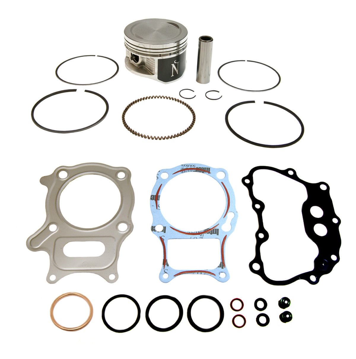 Honda TRX250EX TRX250X /& 250 Recon 68.50 mm STD Bore Namura Piston Gaskets Seals
