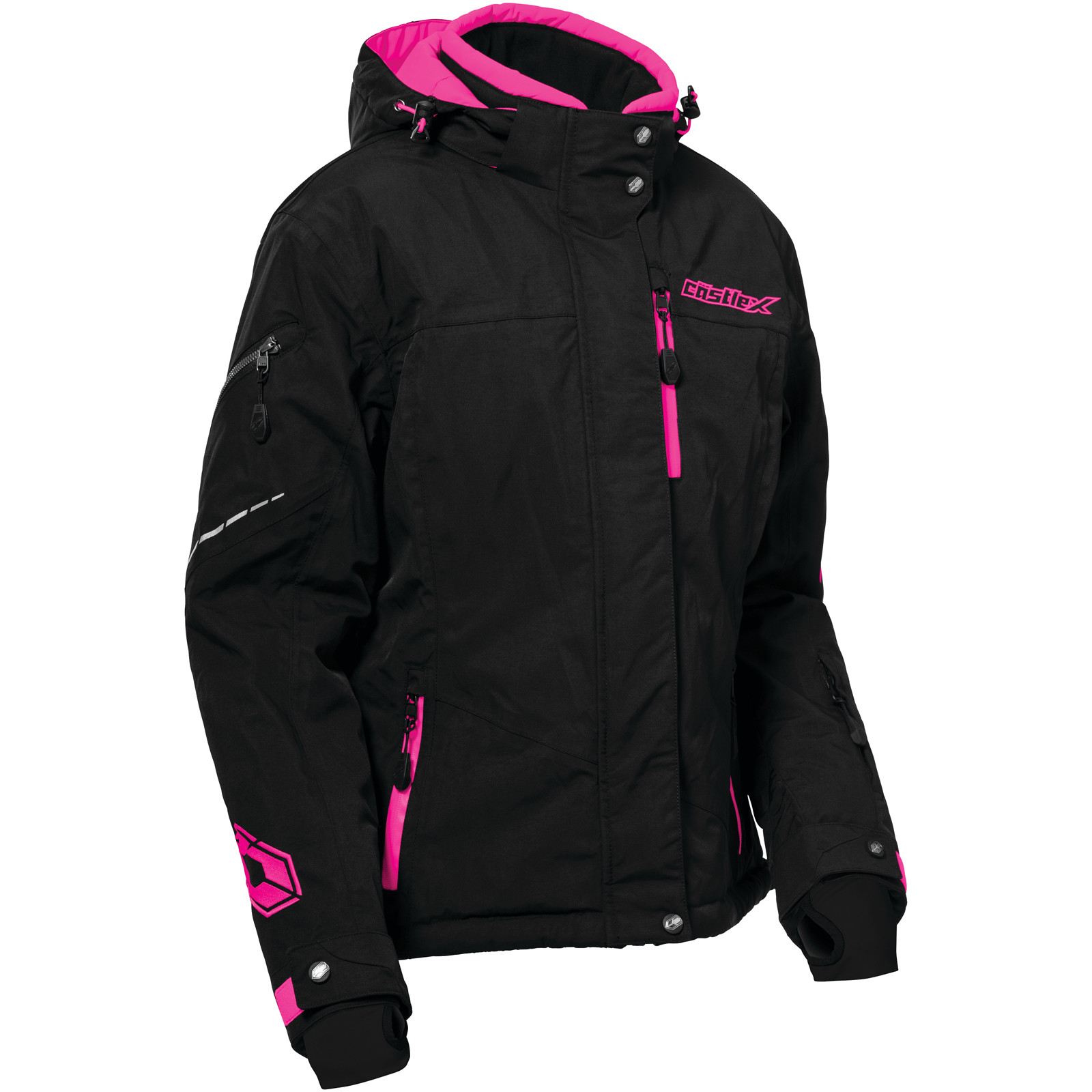 Sangria MED Castle X Powder Womens Snowmobile Jacket