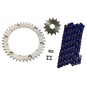 Yamaha YFZ350 350 Banshee Non O Ring Chain and Sprocket 14//41 104L
