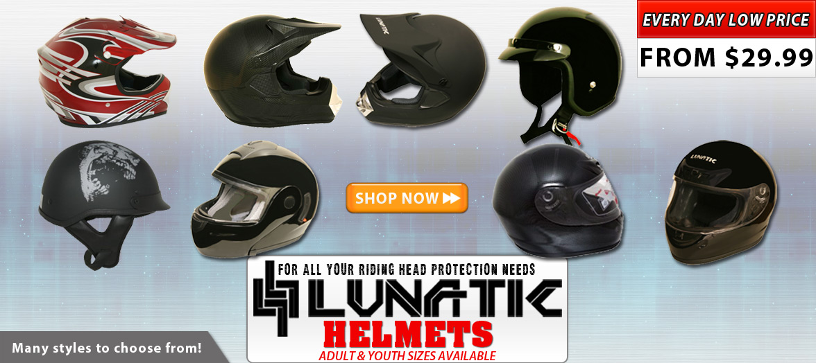 Buy Lunatic Helmets