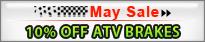 10% off atv brakes