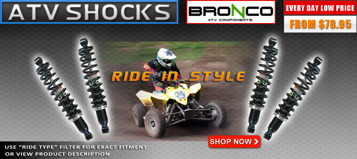 ATV shocks